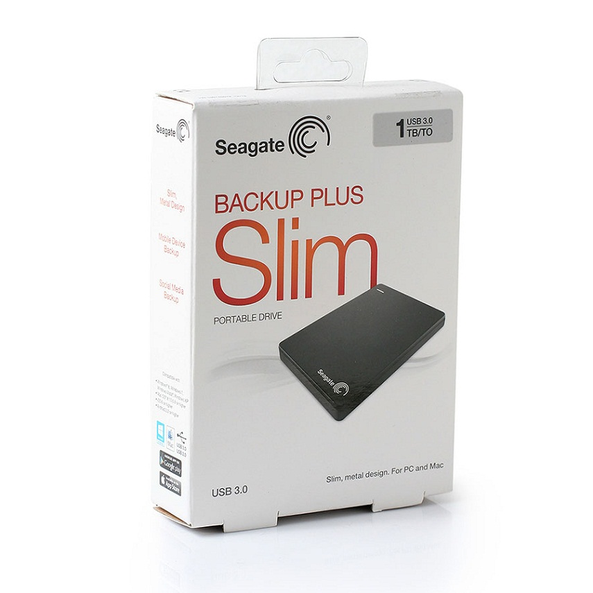 Seagate Backup Plus Slim  1Тб. (STDR1000200)
