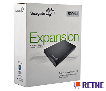 Внешний жесткий диск 500 Gb. Seagate Expansion Portable Drive (STBX500200) Black