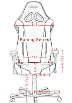 DXRacer Racing OH/RE0 (7 цветов)