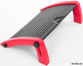 AKRacing FOOTREST- подножка   Black/Grey/Red