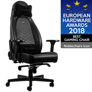 Игровое Кресло Noblechairs ICON  PU Leather- black