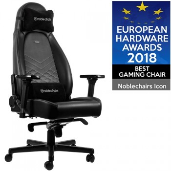 Игровое Кресло Noblechairs ICON  PU L (platinum white)