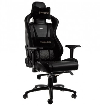 Игровое Кресло Noblechairs EPIC PU Leather  black/gold