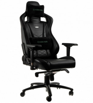 Noblechairs EPIC Black/Green