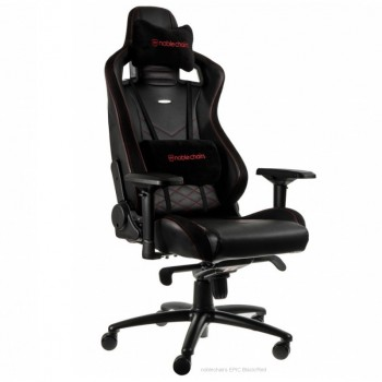 Noblechairs EPIC PU Leather / black/red (красное)