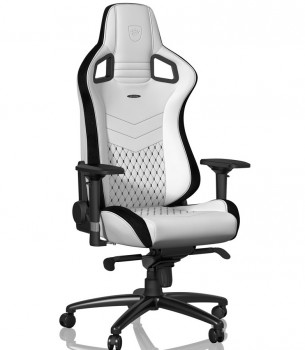 Игровое Кресло Noblechairs EPIC  PU Leather / white