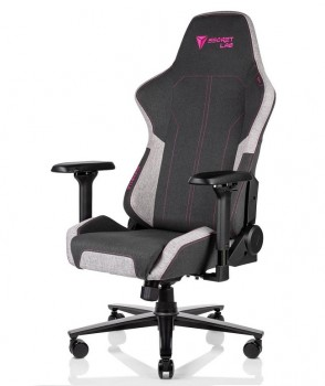 Secretlab THRONE 2020 SoftWeave™ - Coal Pink