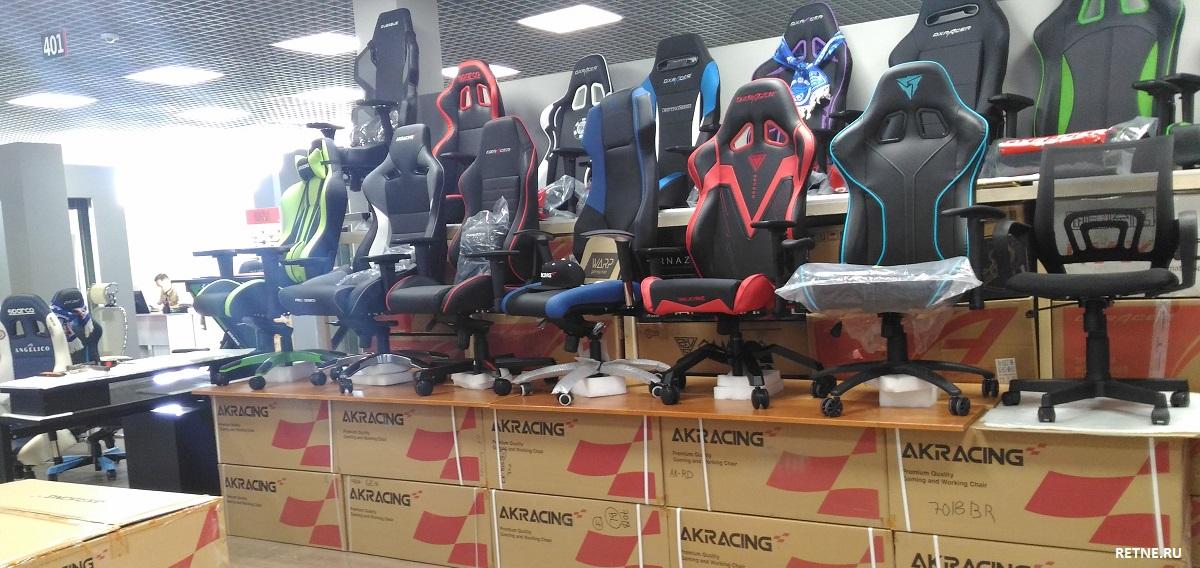 магазин геймерских кресел Akracing в Санкт-Петербурге