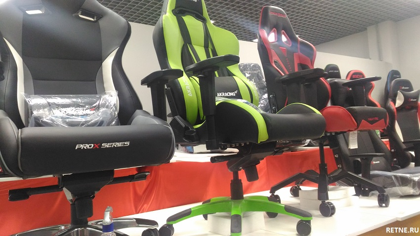 акрасинг кресла для геймеров в магазине СПб