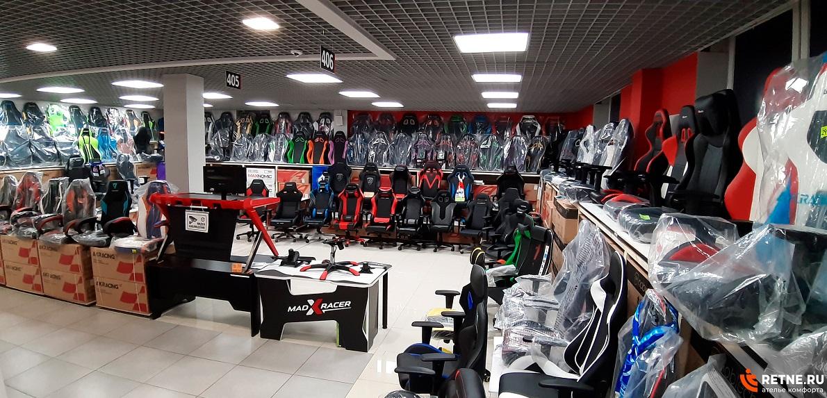 магазин игровых кресел в санкт-Петербурге RETNE