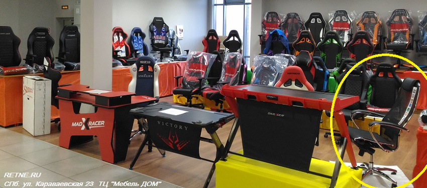 купить кресло самурай на выставке в магазине